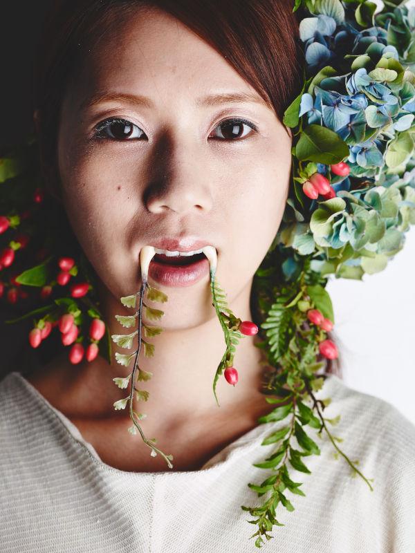 植物風の義歯